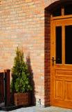 Zone d'entrée d'une maison Photo libre de droits