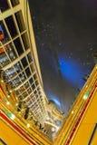 Zone d'entrée de réception dans l'hôtel luxueux, Dubaï, EAU photos libres de droits