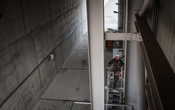 Zone d'exclusion de Chernobyl Images stock