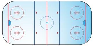 Zone d'hockey Photographie stock libre de droits