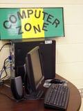 Zone d'ordinateur Photos stock