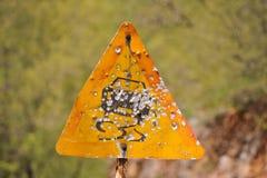 Zone dangereuse Photos libres de droits