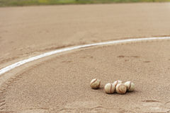 Zone de base-ball Image libre de droits