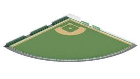 Zone de base-ball illustration libre de droits