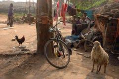 Zone de brique en Bengale-Inde occidentale Photos libres de droits