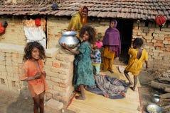 Zone de brique indienne Image libre de droits