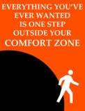 Zone de confort extérieure illustration de vecteur