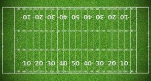 Zone de football américain photos libres de droits