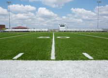 Zone de football américain Image stock