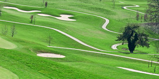 Zone de golf Photo stock
