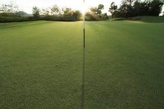 Zone de golf Images libres de droits