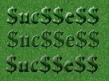 Zone de la réussite (initiale) Photographie stock libre de droits