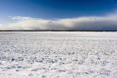 Zone de neige Photo libre de droits