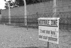 Zone de Neutrale Image stock