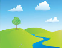 Zone de printemps Image libre de droits