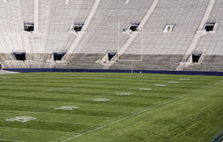 Zone de stade de Footbal Photographie stock libre de droits