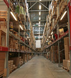 Zone de stockage Photo stock