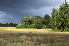 Zone de tempête Photographie stock