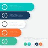 Zone de texte colorée de vecteur Images libres de droits