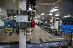 Zone de traitement japonaise de Nishin Maru de bateau de pêche à la baleine Image stock