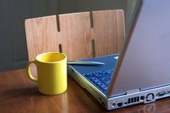 Zone de travail à la maison Photographie stock libre de droits