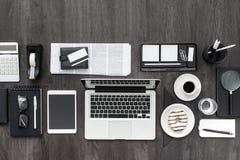 Zone de travail d'affaires Image stock