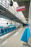 Zone de Wi-Fi dans l'aéroport Photographie stock
