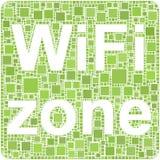 zone de wifi Images stock