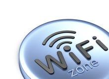 Zone de WiFi Photos libres de droits