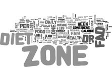 Is Zone Diet A Fad Word Cloud Concept. Is Zone Diet A Fad Text Background Word Cloud Concept Royalty Free Stock Photo