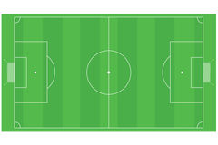 Zone du football (le football) Image stock