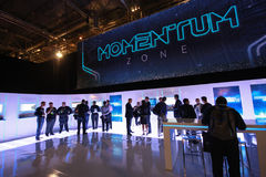 Zone of EMC Momentum user group at EMC World Stock Images