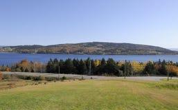 Zone et côte du Canada Photographie stock libre de droits