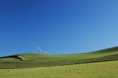 Zone et moulins à vent photos libres de droits