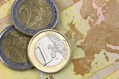Zone euro Images libres de droits