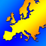Zone européenne Photographie stock libre de droits