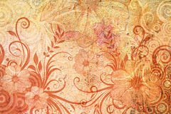 Zone florale Image libre de droits