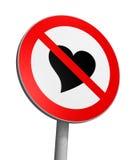 Zone franche d'amour Image libre de droits