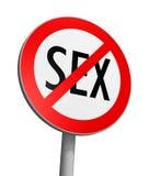 Zone franche de sexe Photo libre de droits