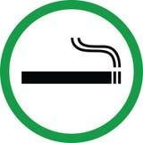 Zone fumeur Photo libre de droits