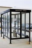 Zone fumeur Photographie stock