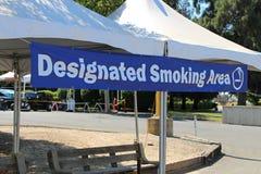 Zone fumeur Photo stock