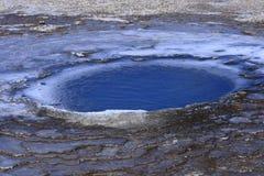 Zone géothermique Hveravellir Image libre de droits