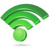 Zone gratuite d'accès de Wi-Fi illustration stock