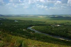 Zone humide de prairie Photographie stock