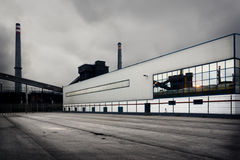 Zone industrielle Photos stock