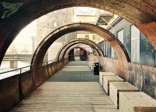 Zone industrielle abandonnée Image stock