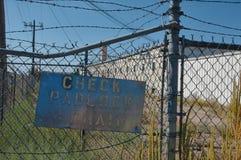 Zone industrielle sale images libres de droits