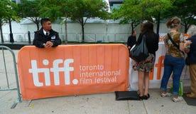 Zone internationale d'endroit d'étoile de festival de film de Toronto Photographie stock libre de droits