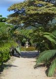 Zone Le Domaine Les Pailles de stationnement mauritius Photographie stock libre de droits